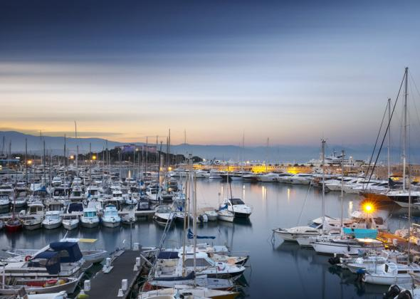 Berth 24x6 meters Antibes Port Vauban for sale