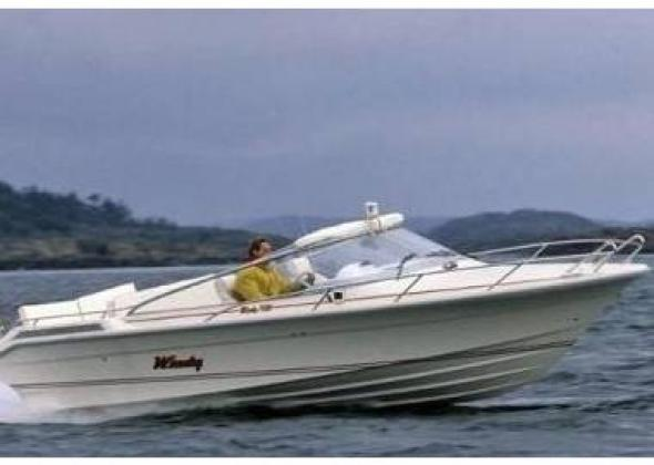 Day boat WINDY 7500 pre-owned for sale