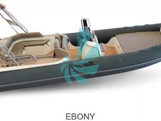 Semi-Rigide de luxe Italien BSC 85 Ivory Ebony