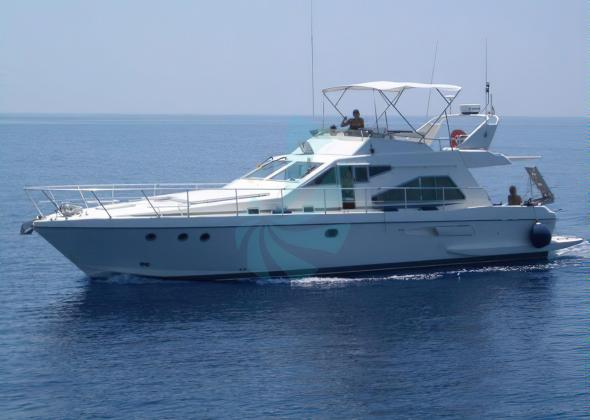 GUY COUACH 1501 Pre Owned Flybridge Yacht
