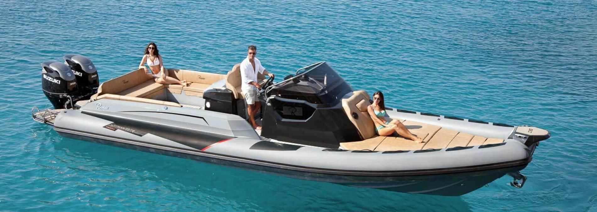Les semi-rigides Ranieri : Cayman Line