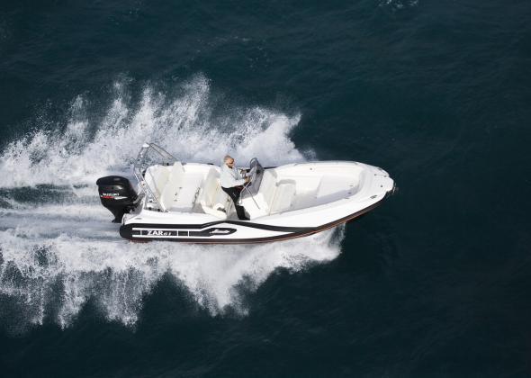 ZAR 61 Classic new Rib Boat