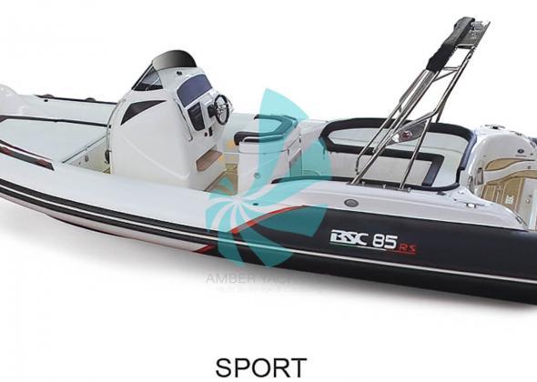 BSC 85 Sport Luxury Italian RIB
