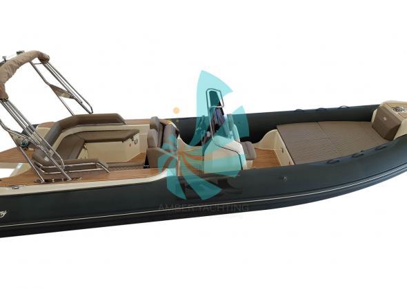 BSC 80 Ivory Ebony Luxury Italian RIB