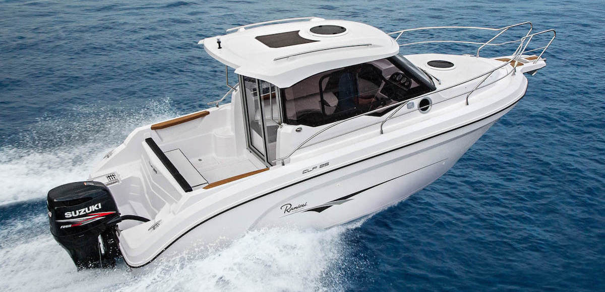 Ranieri CLF25 a vendre chez Amber Yachting