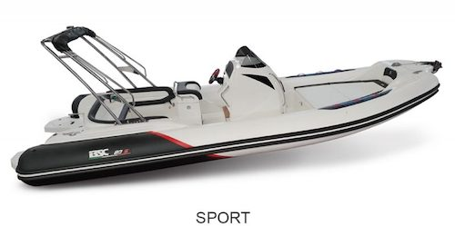 BSC 80 Sport version, for sale at www.amber-yachting.com