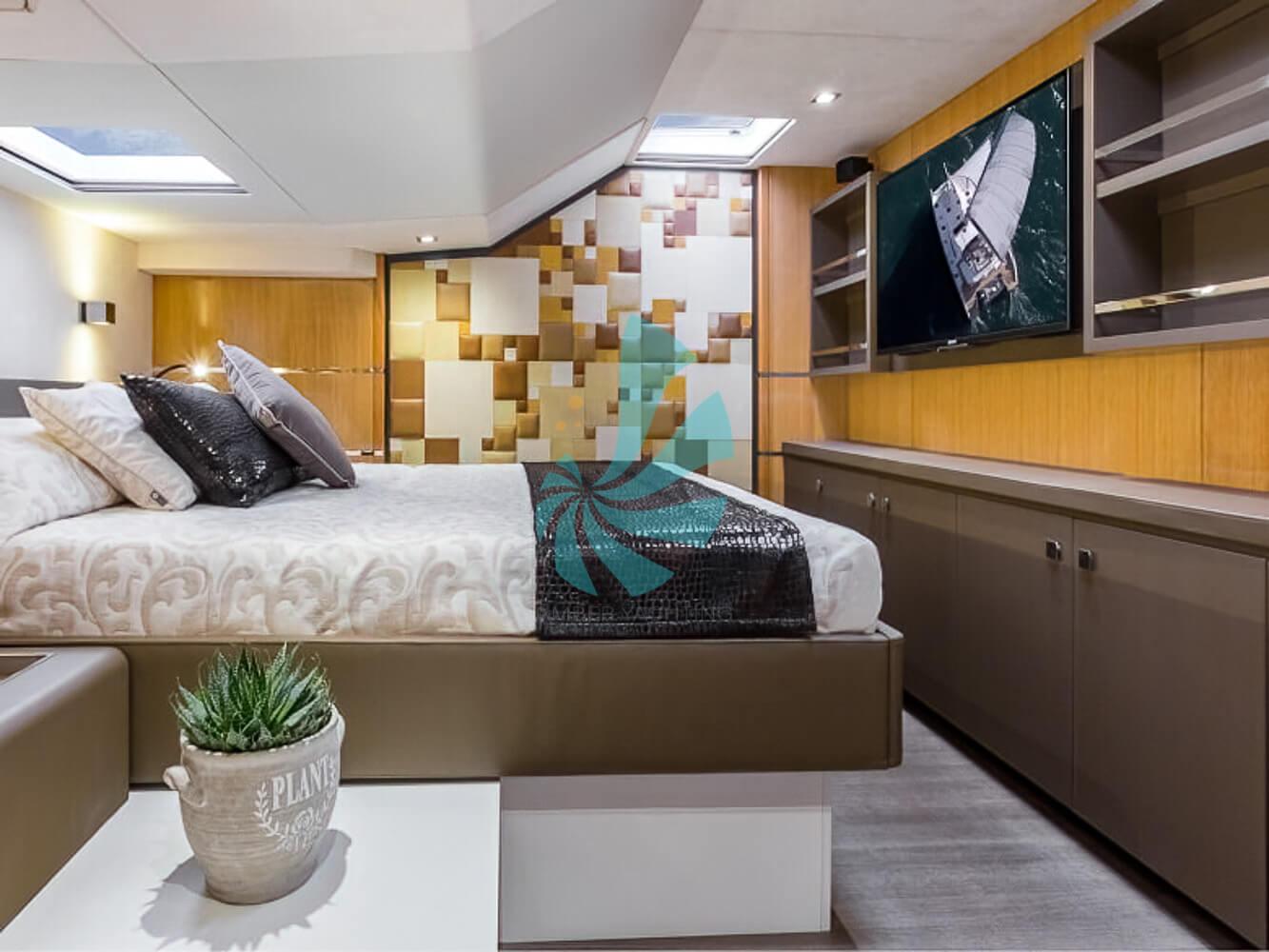Catamaran a voile Privilege Série 6 chambre luxueuse et confortable, a vendre chez www.amber-yachting.com