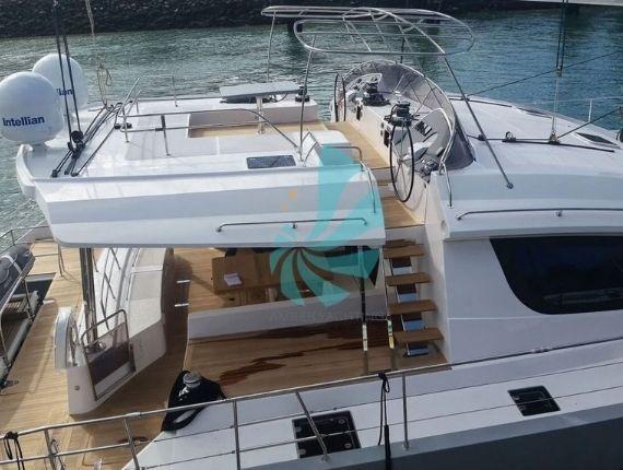 Plan de pont 360° Privilège série 6 catamaran luxe - A vendre d'occasion Amber Yachting - Mandelieu-la-Napoule (06)