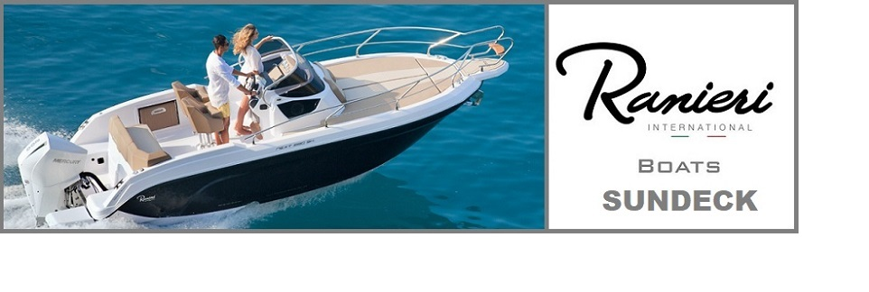 New boat for sale Ranieri International Sundeck