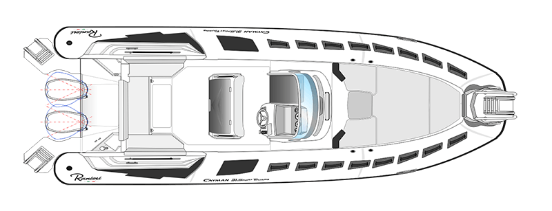 Ranieri Cayman 31 Sport Touring for sale