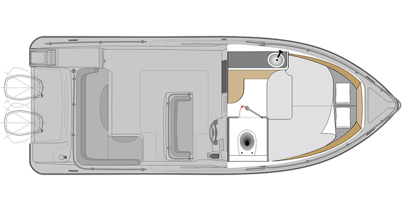 Interior Cabin Ranieri SL 24