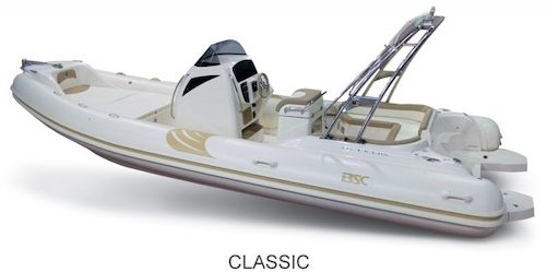 BSC 85 Classic version, for sale at www.amber-yachting.com