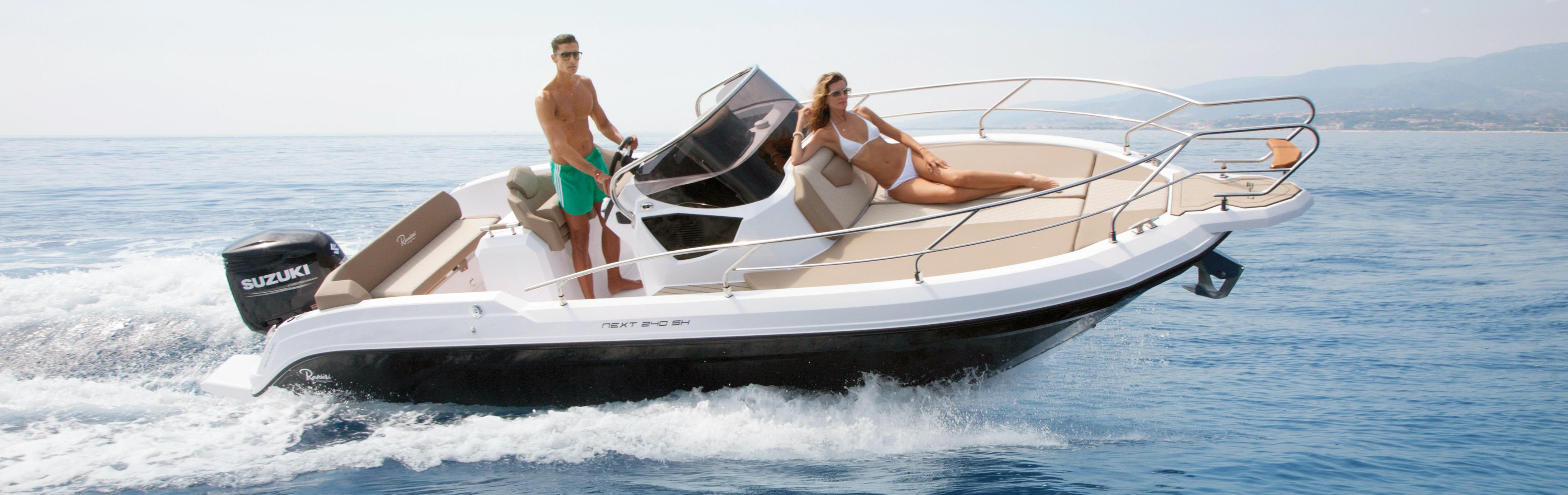 www.amber-yachting.com Ranieri Next 240 à vendre - alpes maritimes