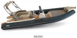 BSC 85 version Ebony, à vendre chez www.amber-yachting.com