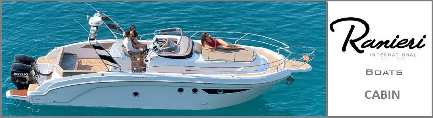 For sale new boat Ranieri International Cabin line