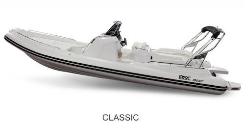 BSC 100 GT version Classic, à vendre chez www.amber-yachting.com